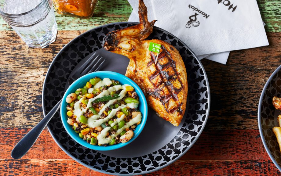 Nando's have launched their new lunch menu – including a PERi-PERi rice bowl!