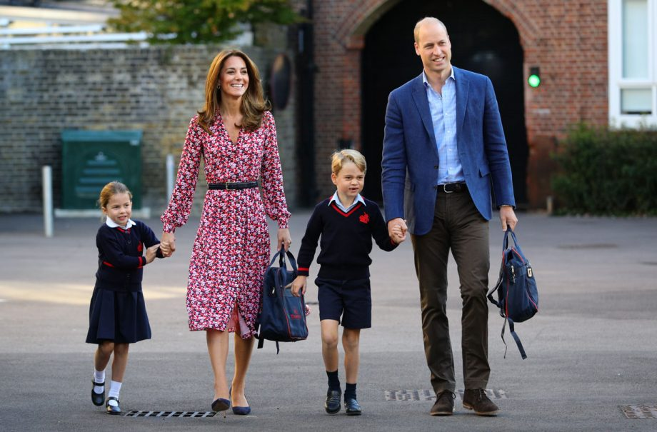 Kate Middleton and Prince William 'delighted' Prince George is making friends at school