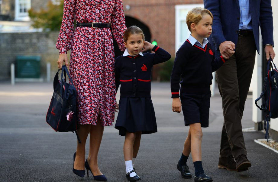 Why royal fans are upset for Princess Charlotte after her first day at school