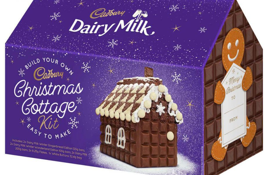 Cadbury has launched its own delicious take on a gingerbread house for Christmas