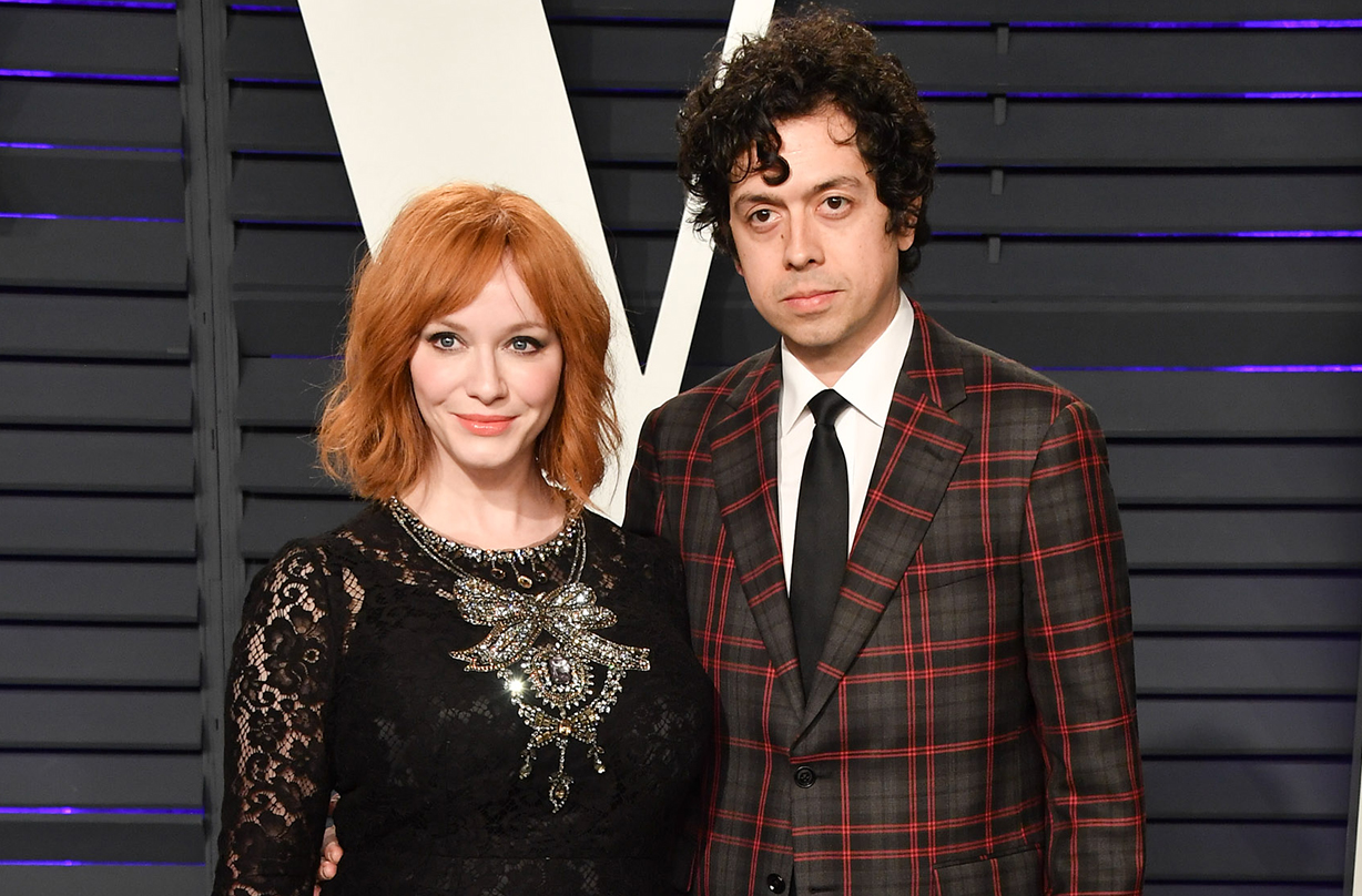 Christina Hendricks announces split from husband of 12 years Geoffrey Arend