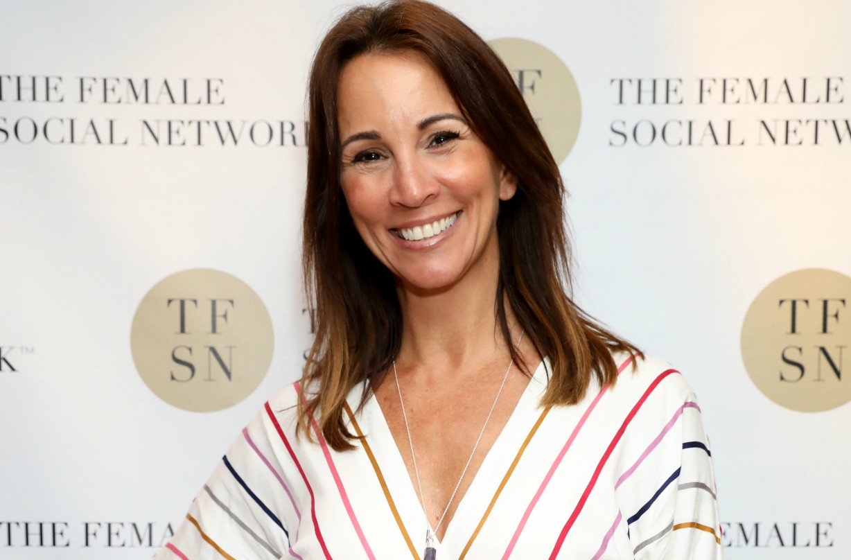 'I'm thankful to be turning 50!' Andrea McLean reveals why she's embracing the milestone birthday