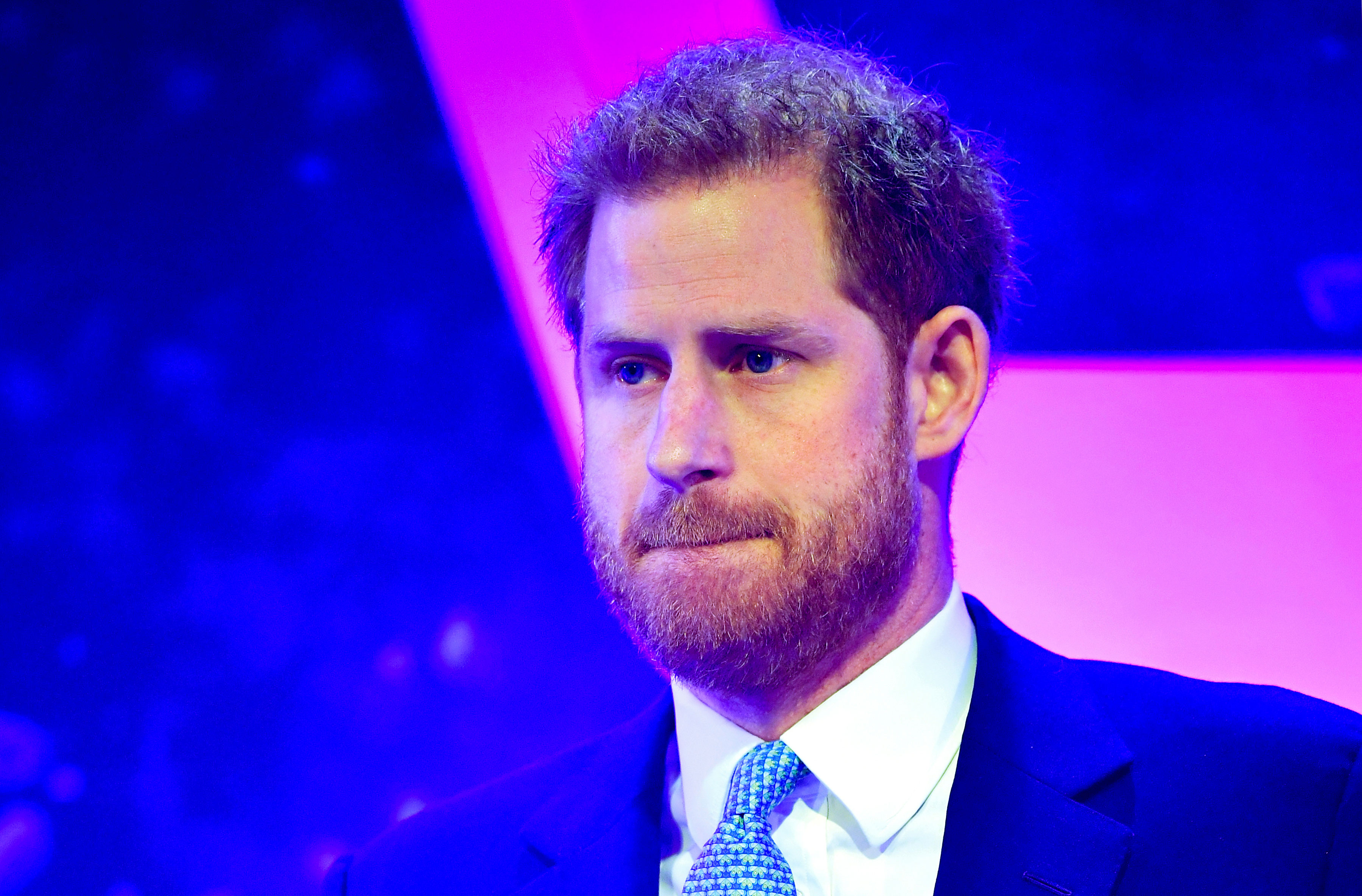 Prince Harry breaks down during speech as he remembers sweet moment during Duchess of Sussex's pregnancy