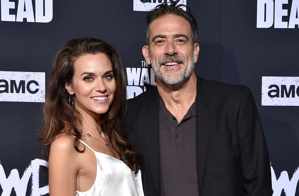 tree hill hilarie burton marries walking dead jeffrey dean morgan