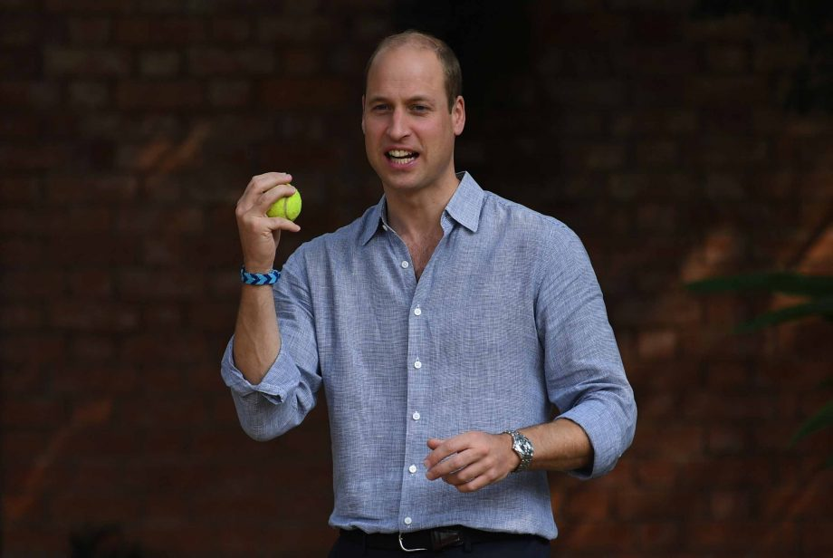 Prince William reveals George's obsession