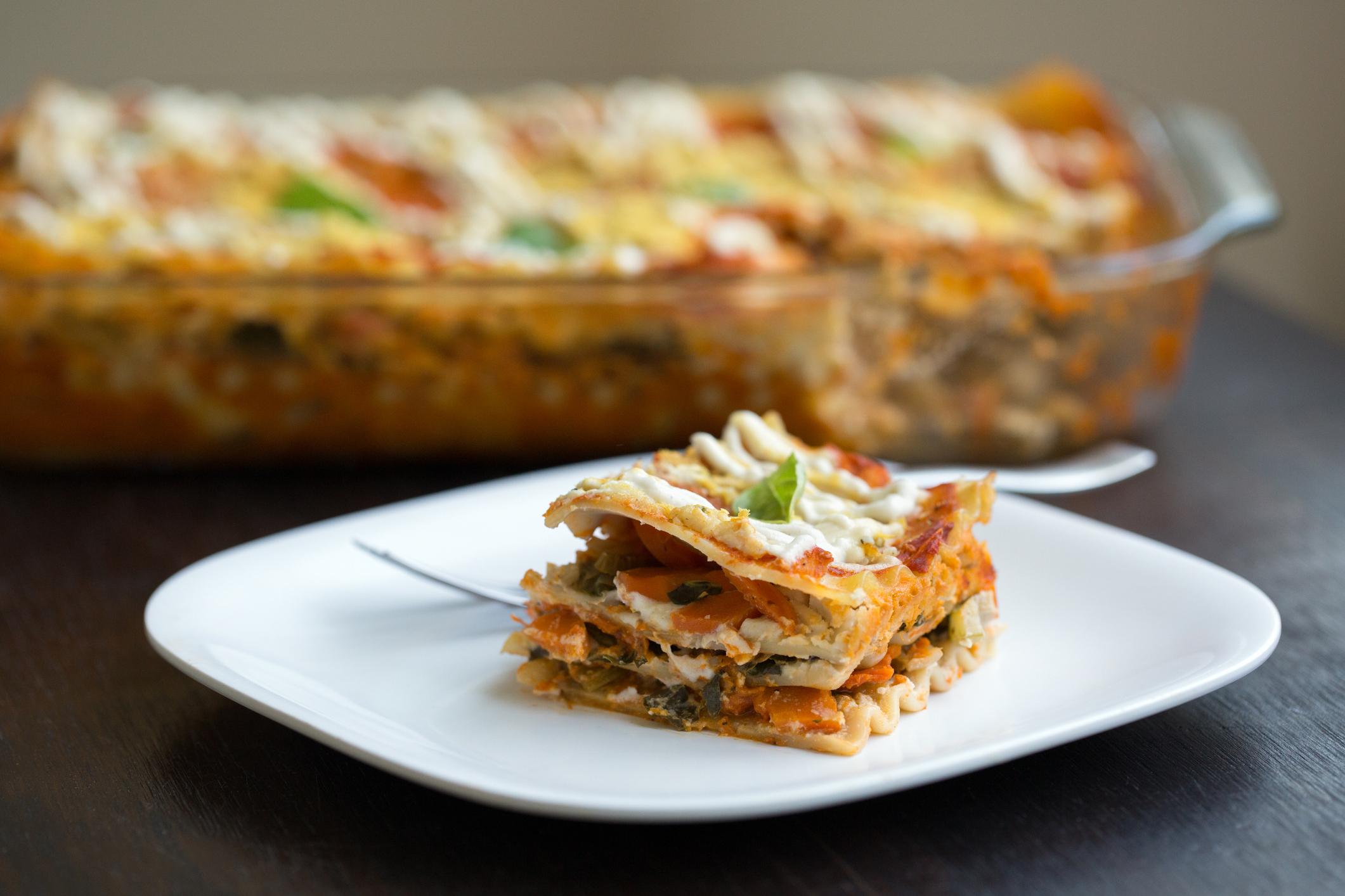 Jane Plan Lasagnes végétariennes