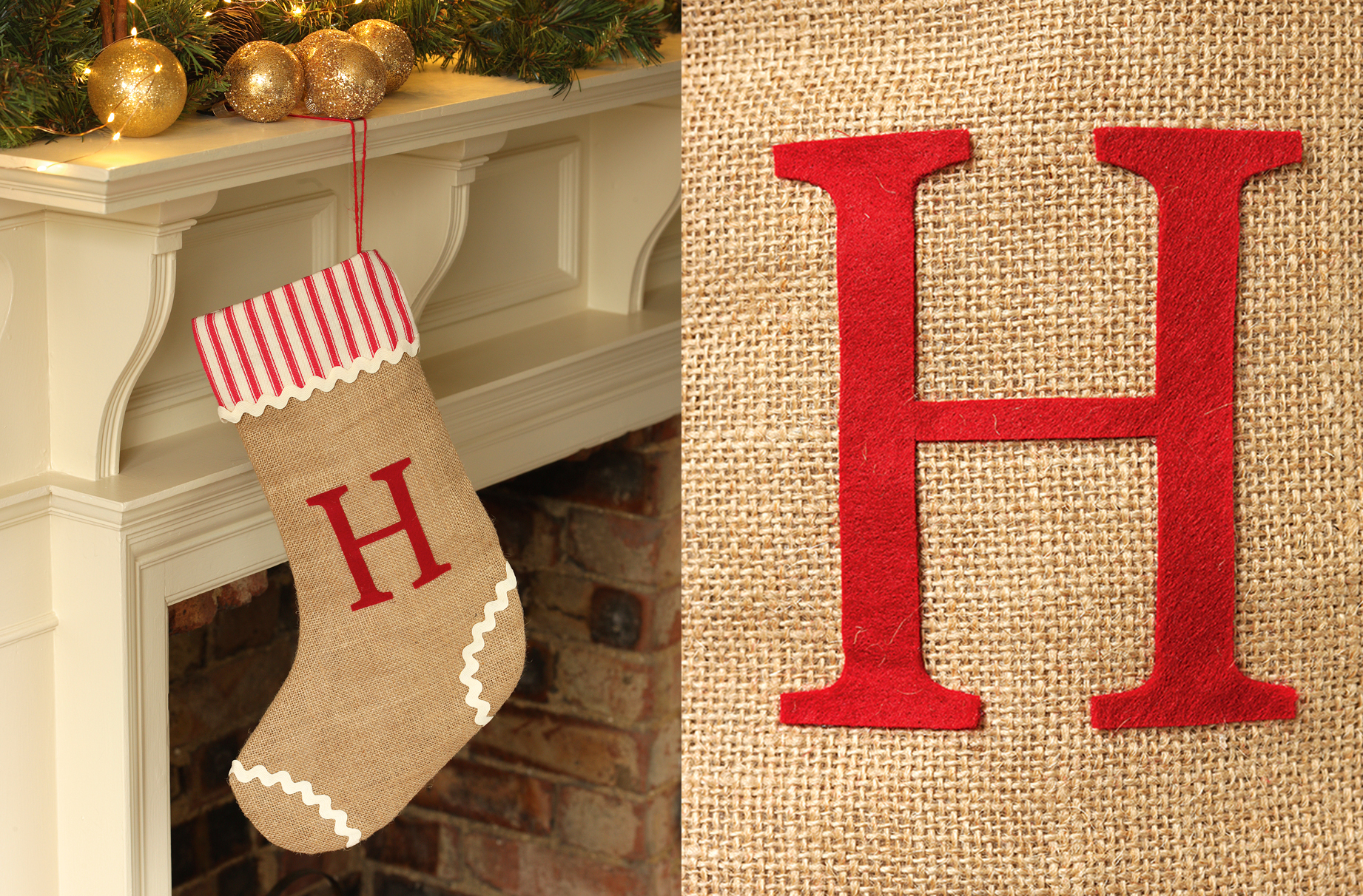 Quick sew stocking