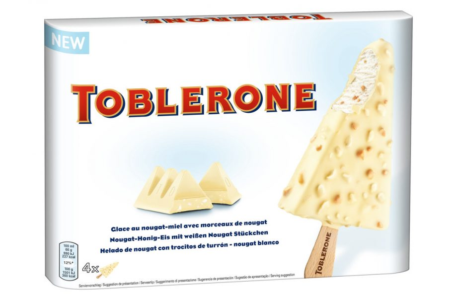 You Can Now Buy White Chocolate Toblerone Ice Cream