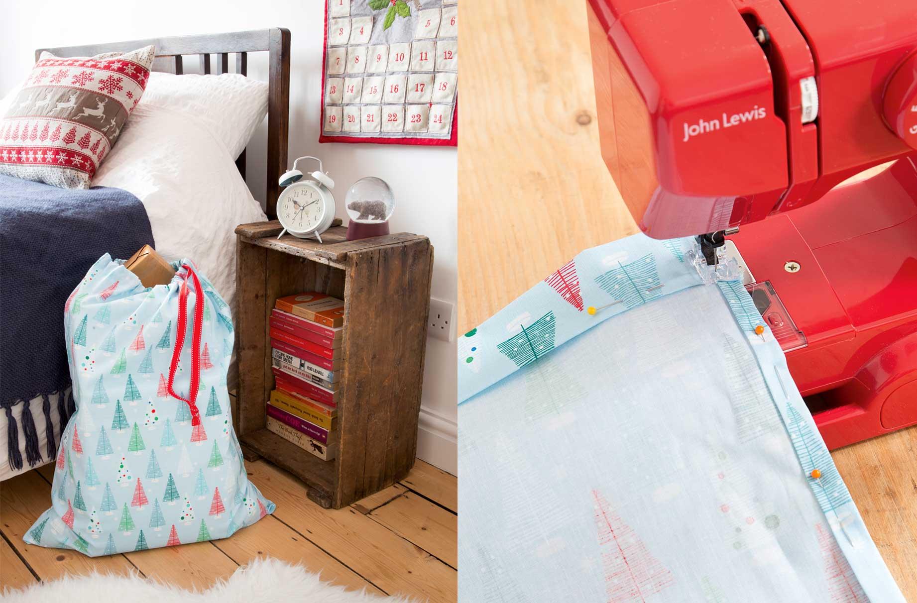 How to make your own Christmas sack