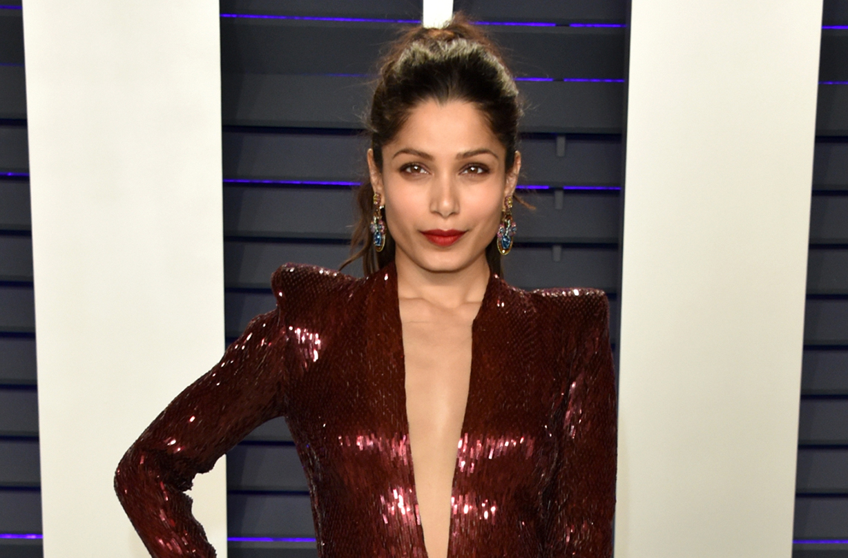 freida pinto announces engagement