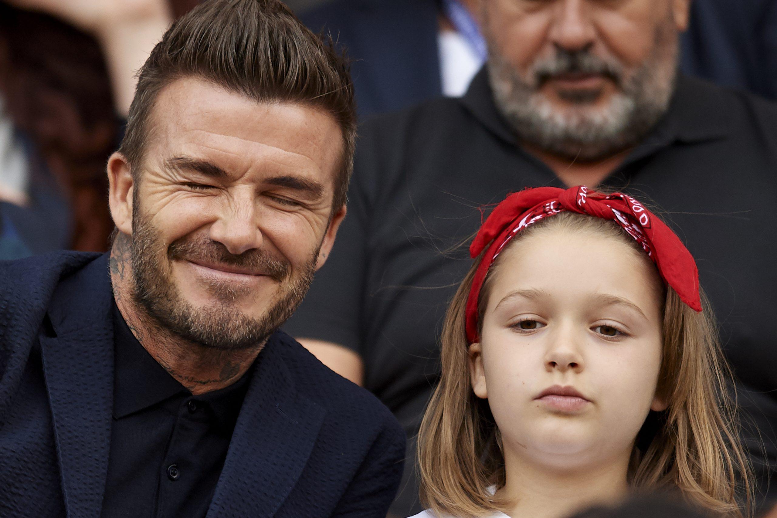 David Beckham Harper