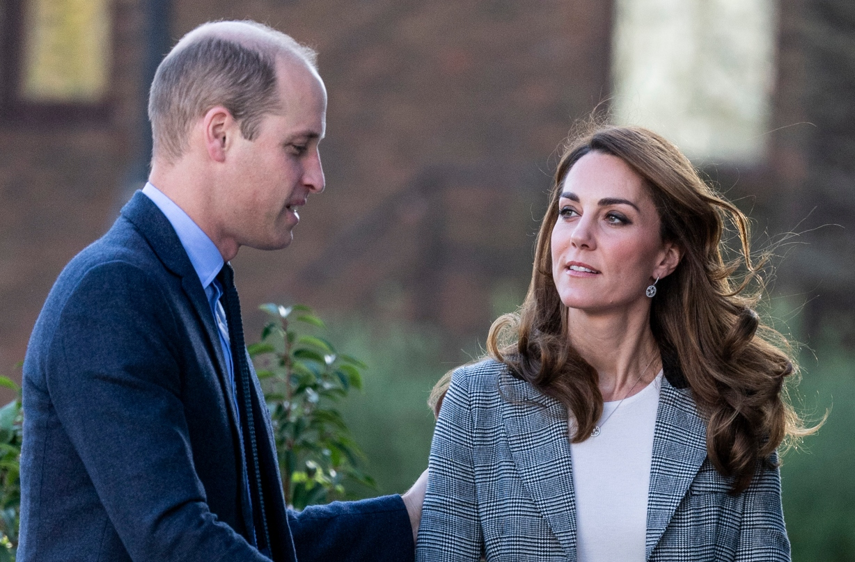 Prince William and Kate Middleton comfort parents during mental health event