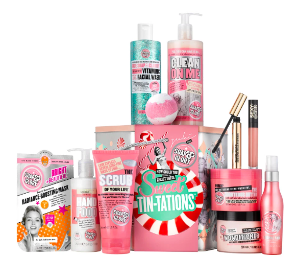 boots soap and glory gift set