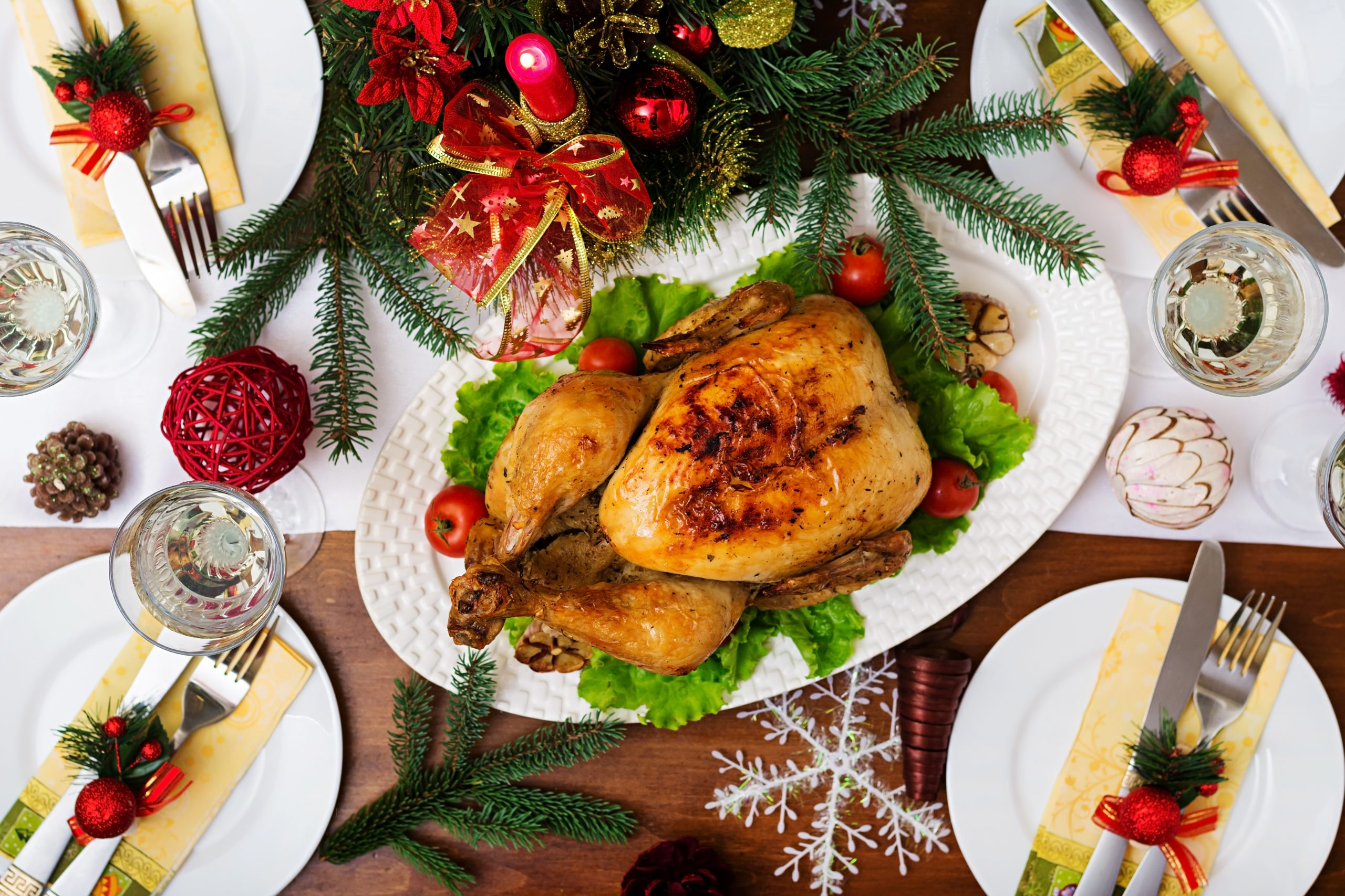 Credit: Getty | Health benefits of Christmas dinner