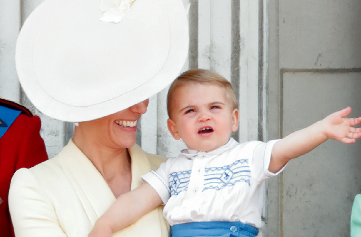 prince louis first word mary berry