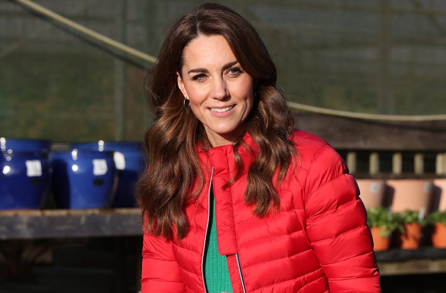 kate middleton sweet moment christmas day out