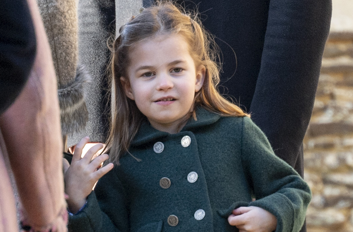 princess charlotte adorable moment curtsey queen