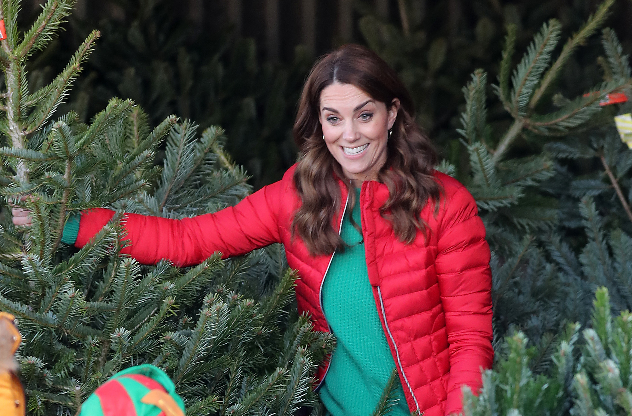 'This video is just the best' Royal fans are loving this video of Kate Middleton picking a Christmas tree with children