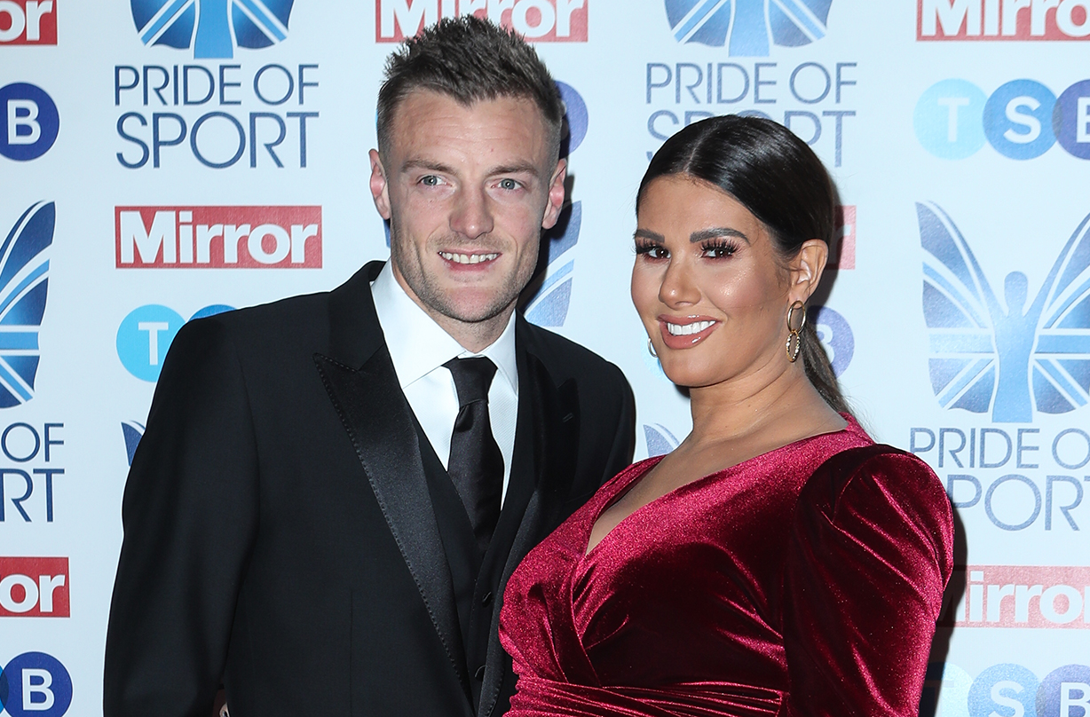 Rebekah Vardy welcomes fifth child with husband Jamie