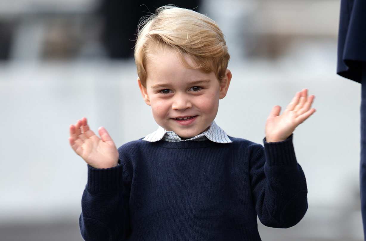 prince george special appearance queen christmas broadcast