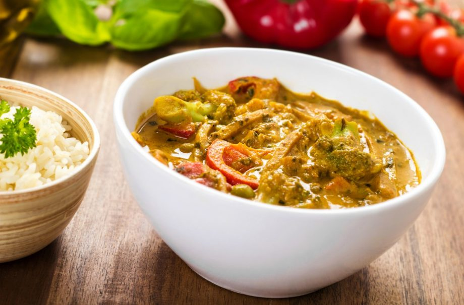 Slimming Worlds Thai Yellow Vegetable Curry