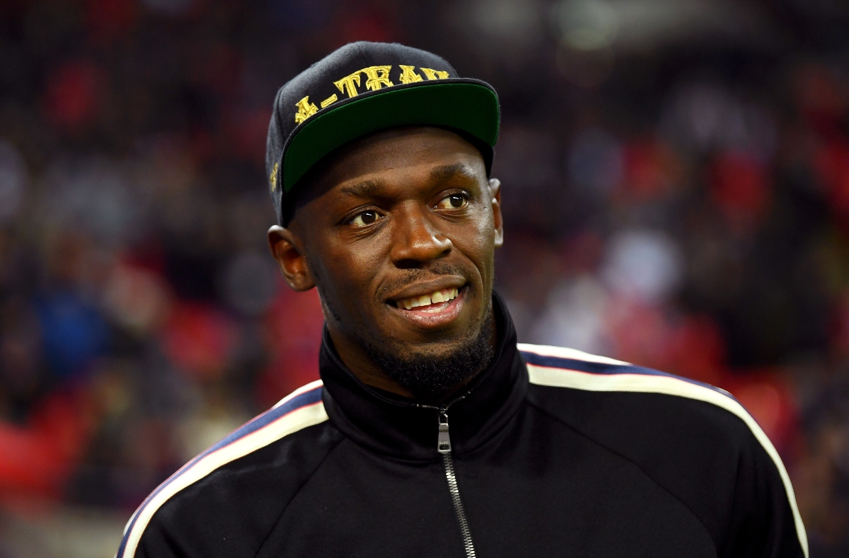 Olympic gold medallist Usain Bolt reveals that he and girlfriend Kasi Bennett are expecting their first child