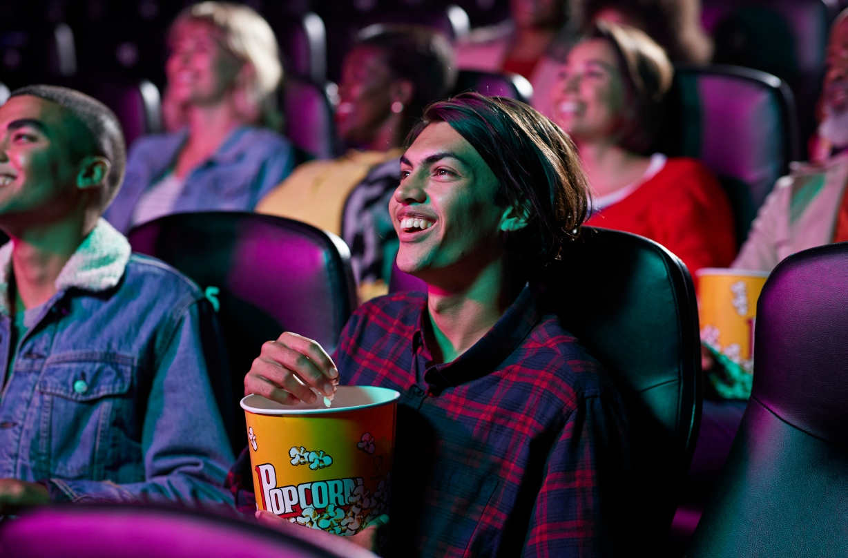 Watching a film in the cinema counts as a 'light workout' according to new study