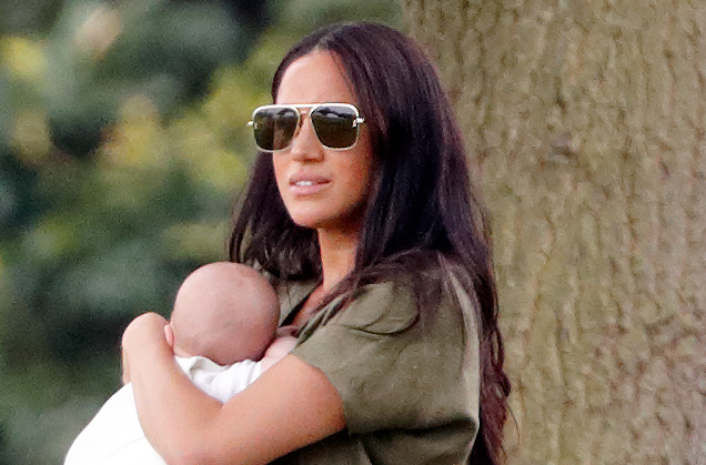 Meghan Markle spotted with baby Archie for the first time since royal split