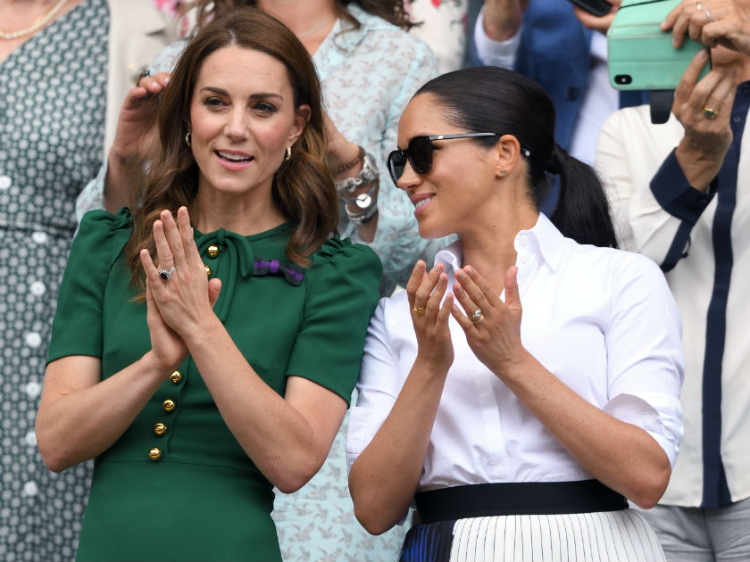 The Duchess of Cambridge and Duchess of Sussex's style overhauls