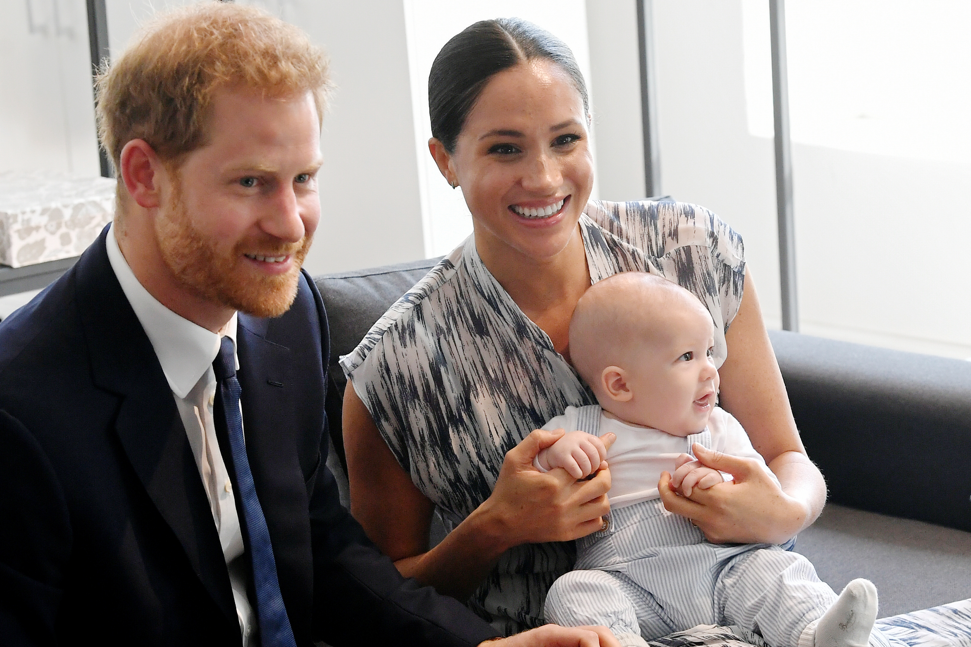 Prince Harry reveals emotional first for Archie during first speech since royal split