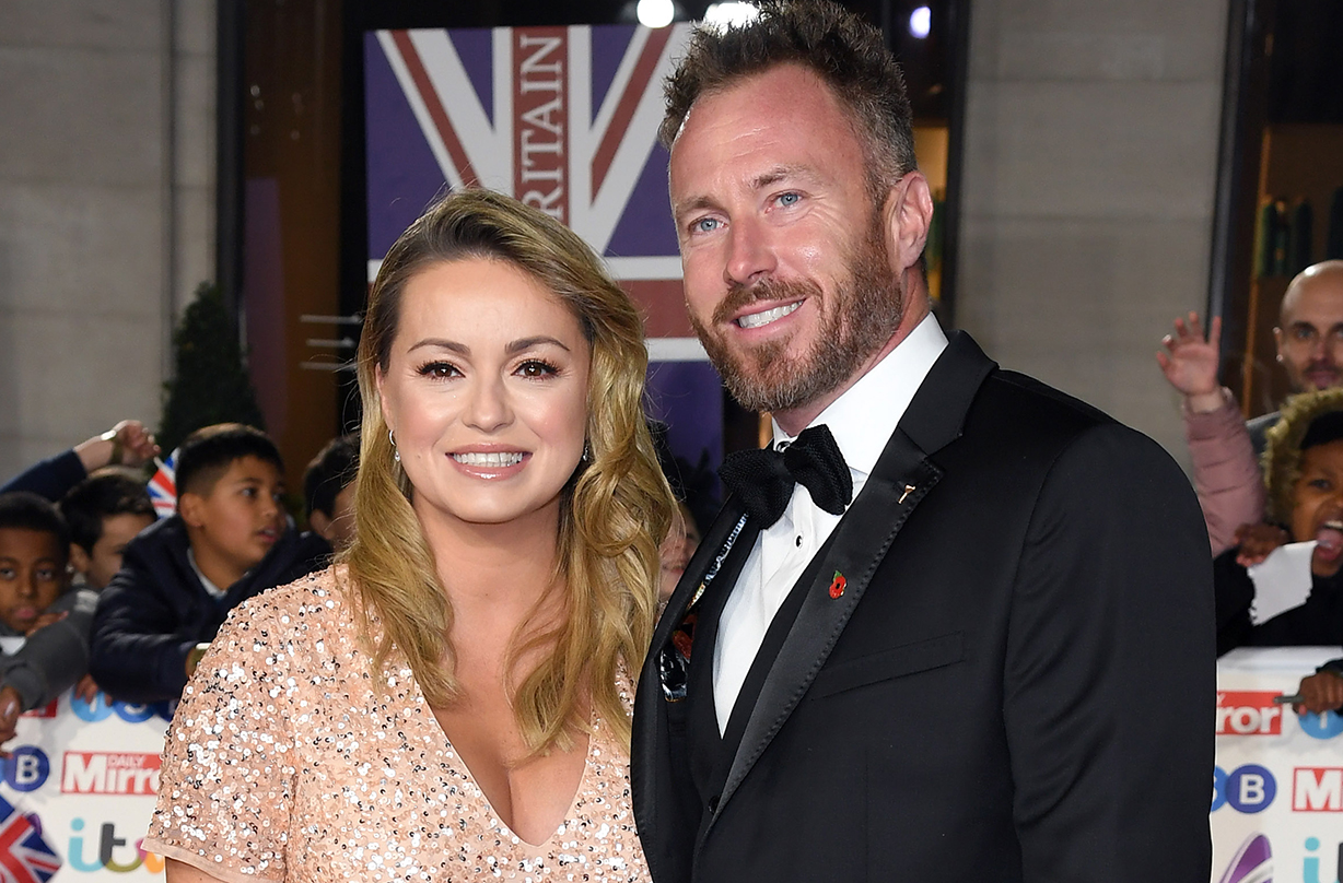 James Jordan admits to breaking down amid IVF struggle