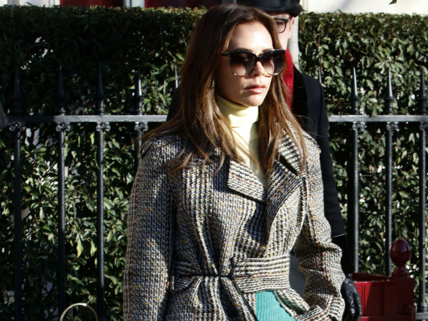 Victoria Beckham criticised by animal rights groups for carrying £16,000 crocodile skin handbag