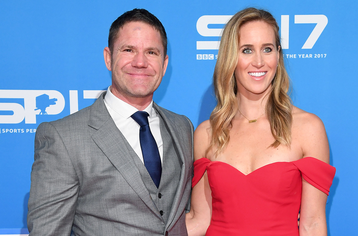 Olympian Helen Glover welcomes twins with husband Steve Backshall