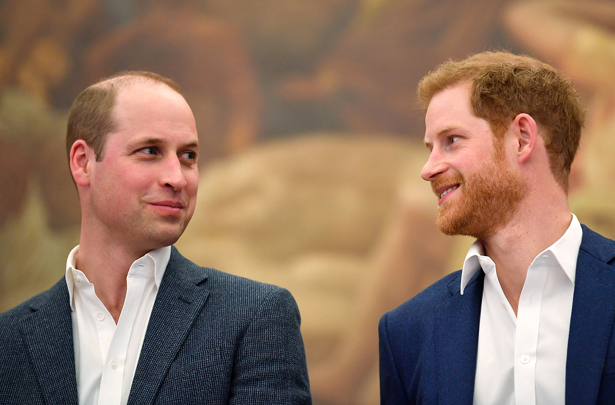 prince william reveals sadness relationship prince harry separate entities
