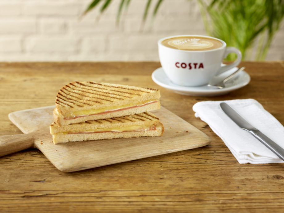 Costa Launches Vegan Ham And Cheeze Toastie As Part Of New