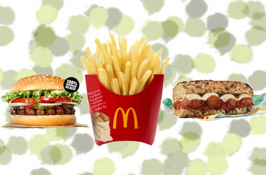 Best Vegan Fast Foods At Mcdonalds Burger King Kfc