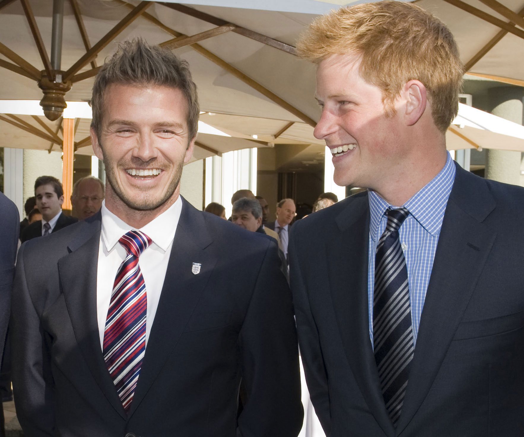 Prince Harry David Beckham