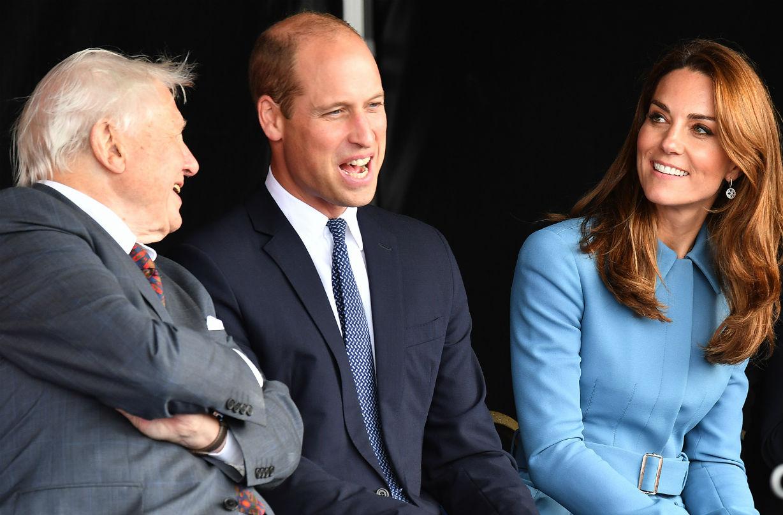 Sir David Attenborough helped the Duchess of Cambridge with 'mum-guilt'?