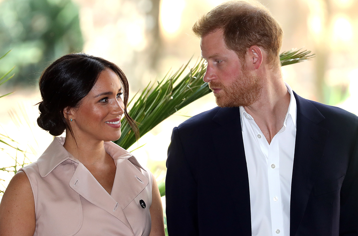 prince harry meghan markle valentines day plans