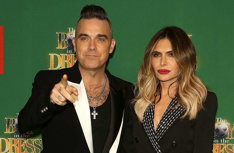 Robbie Williams Ayda Field welcome fourth child