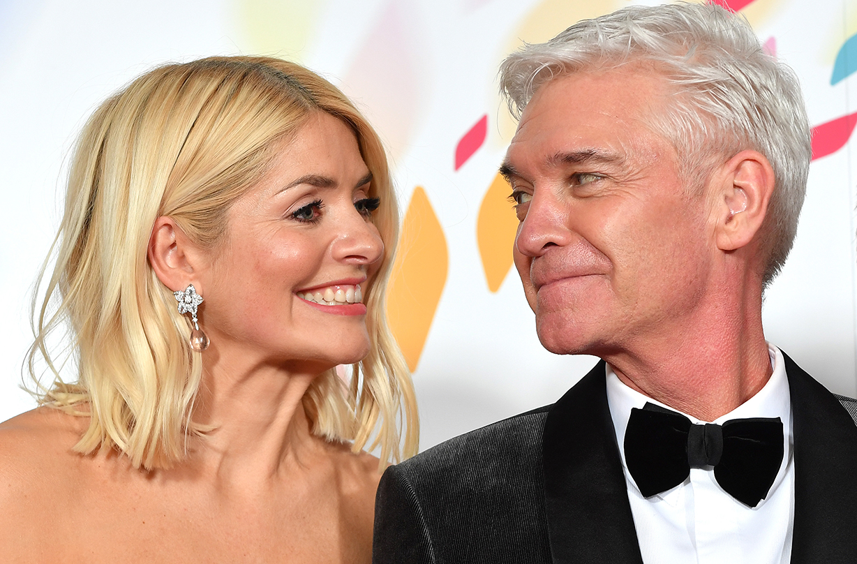 holly willoughby phillip schofield viewers tears wedding dress gesture