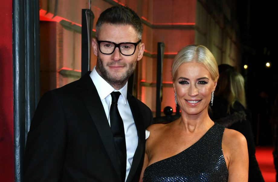 Denise Van Outed and fiance Eddie Boxshall