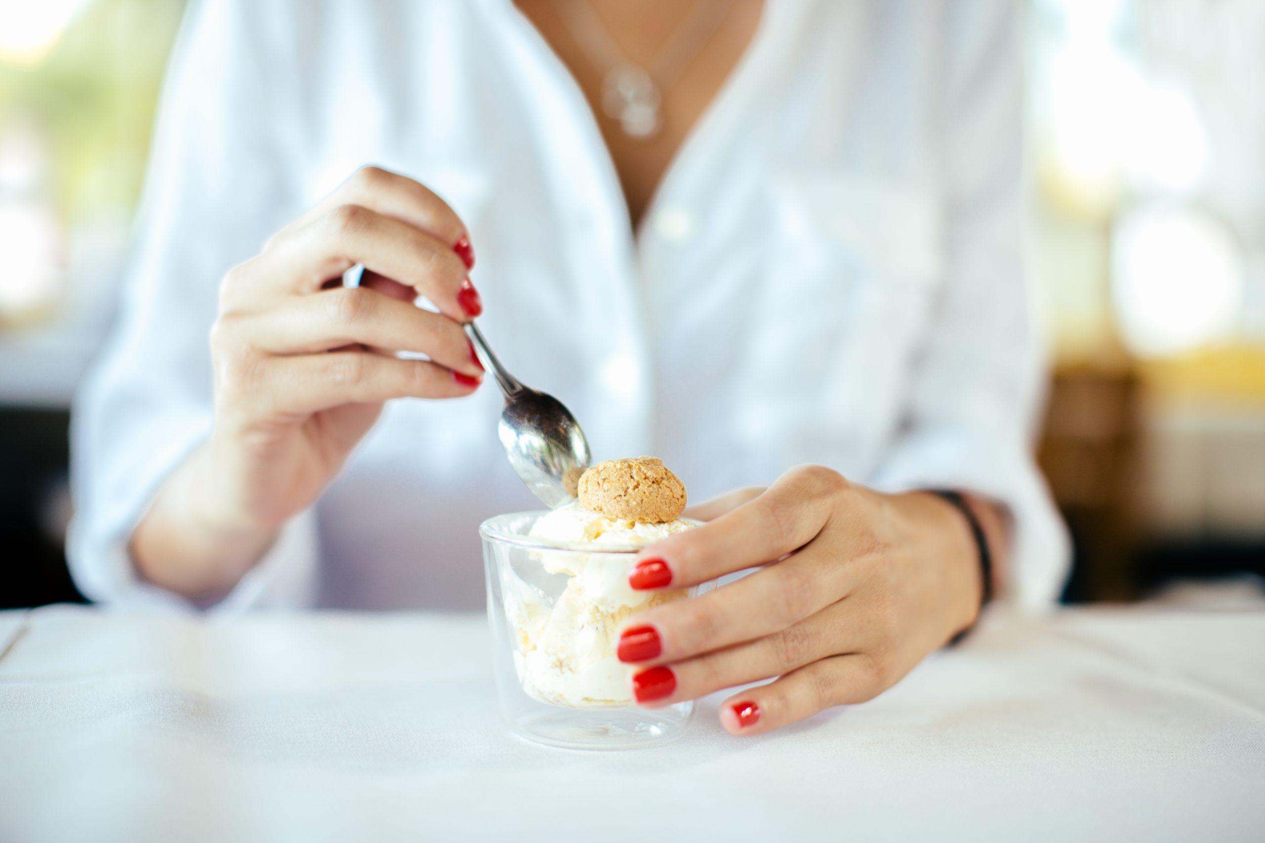 Biscoff ice cream