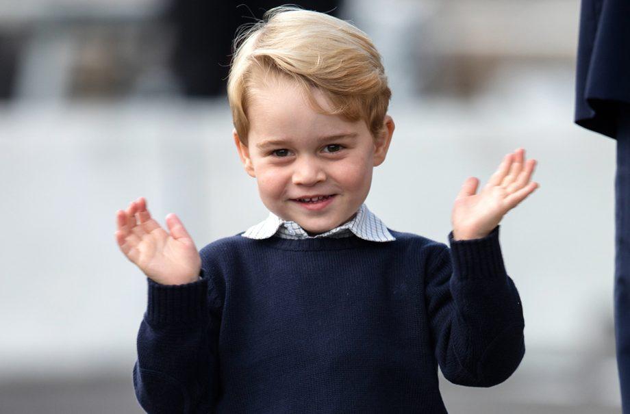 sweet way prince george preparing king role