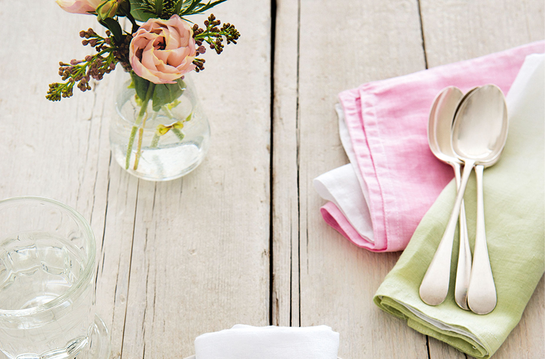 create your own dip dye napkins
