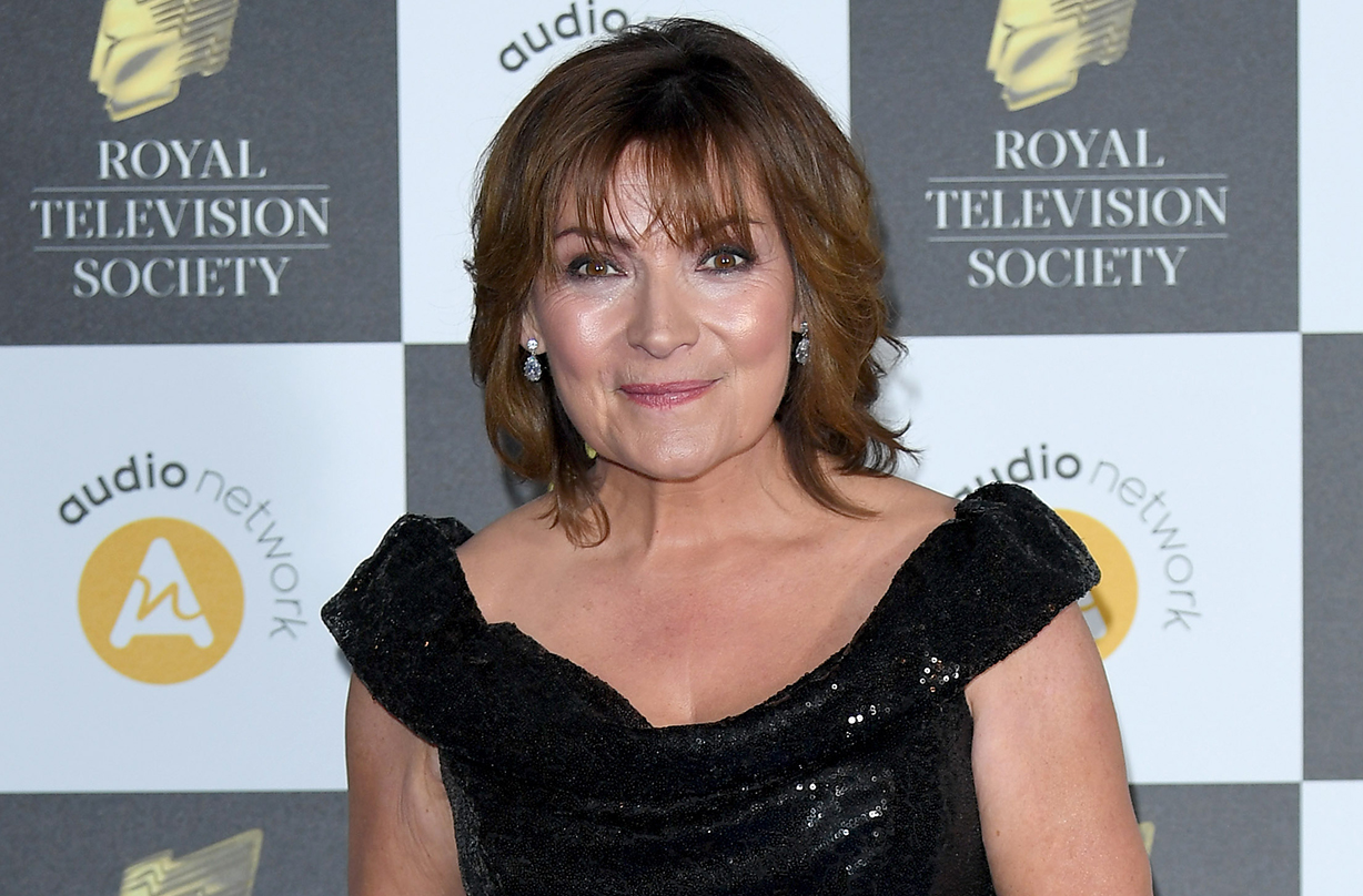 Lorraine Kelly discusses miscarriage giovanna fletcher podcast
