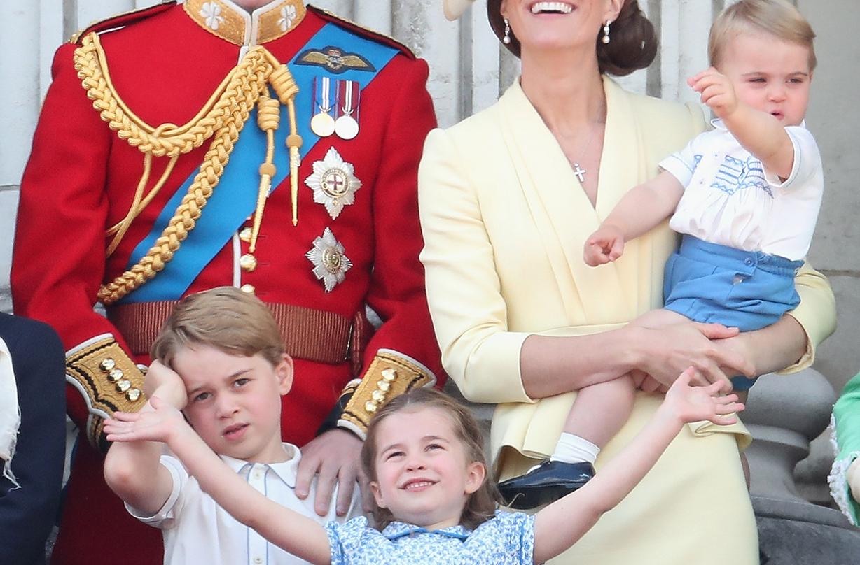 prince george princess charlotte prince louis rare video clapping nhs