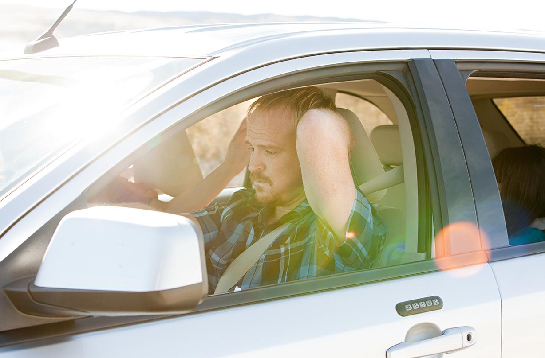parents stressful car journeys kids antics