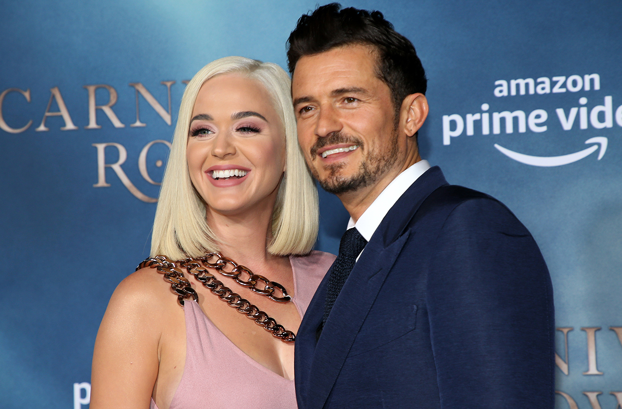 katy perry orlando bloom expecting first child