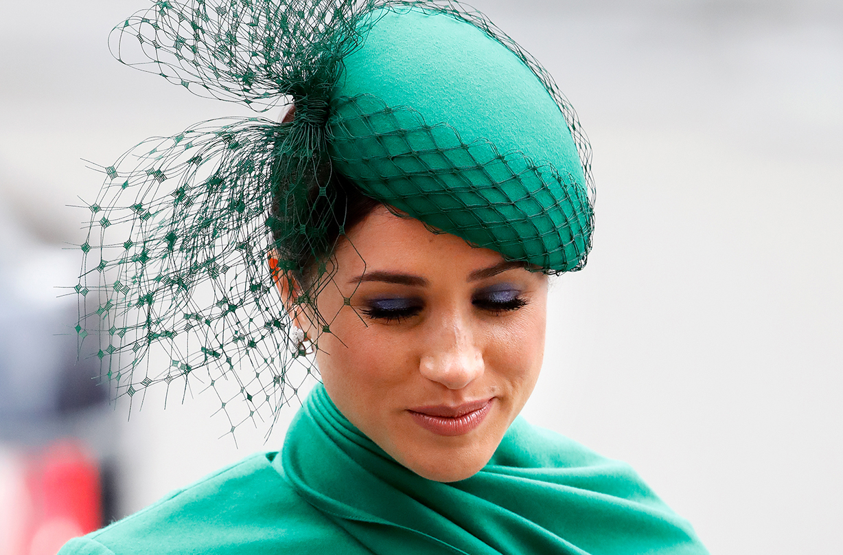 meghan markle teary final engagement commonwealth day